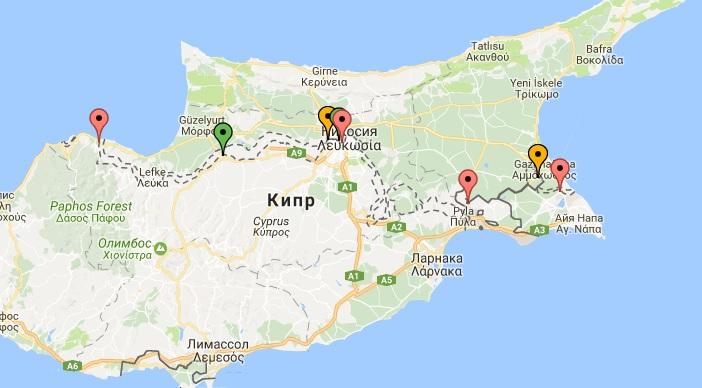 Как добраться на Северный Кипр?