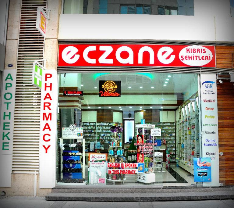 Аптеки на Северном Кипре (время работы, дежурные аптеки)
