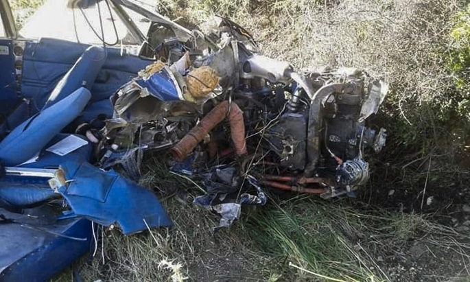 Начинается расследование крушения самолета в Гечиткале