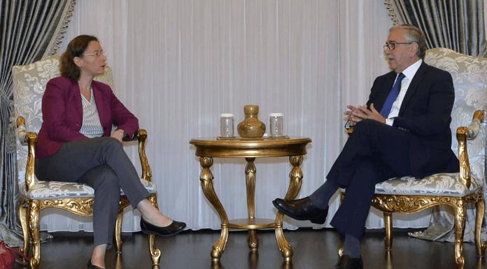 Акинджи встретился с новым послом Франции в Никосии