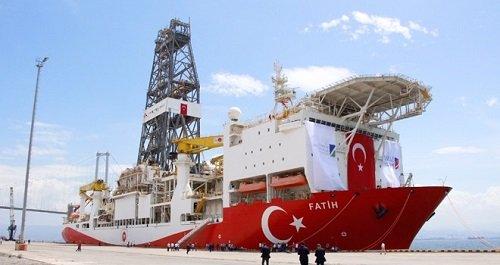 Буровой корабль «Фатих» скоро возобновит бурение на Кипре