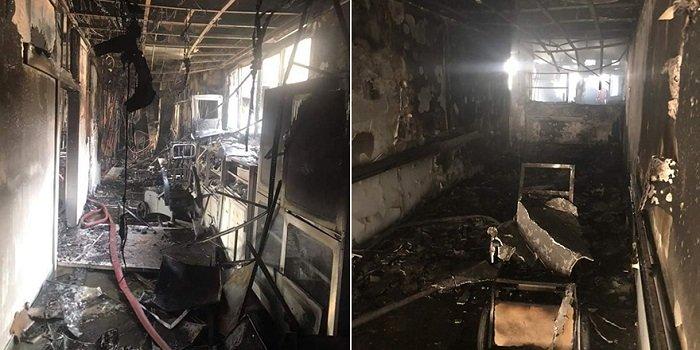 Последняя информация о пожаре в государственной больнице Никосии