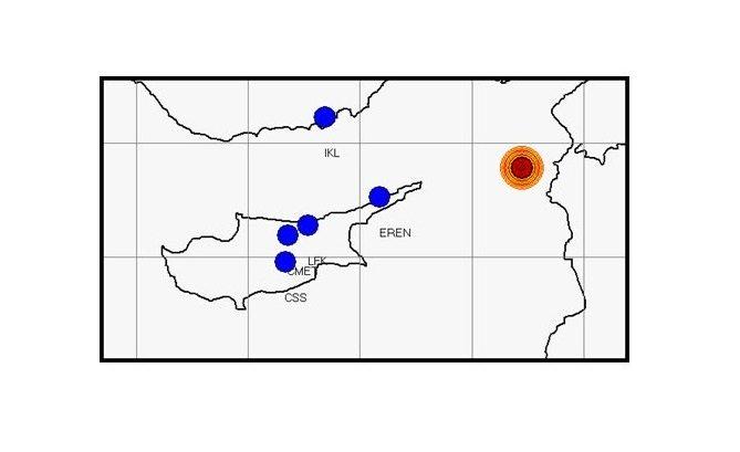 Землетрясение магнитудой 5 баллов было зафиксировано в пятницу вечером