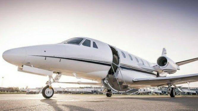 """9 пассажиров приехали в Эрджан на частном самолёте """"У нас по специальному разрешению"""""""