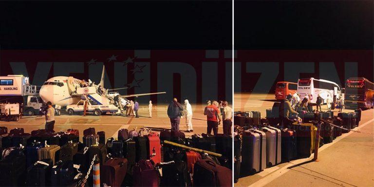 Прилетел самолет, перевозящий 160 граждан ТРСК