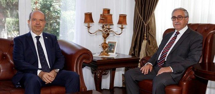 Премьер-министр Эрсин Татар встретился с президентом Акинджи