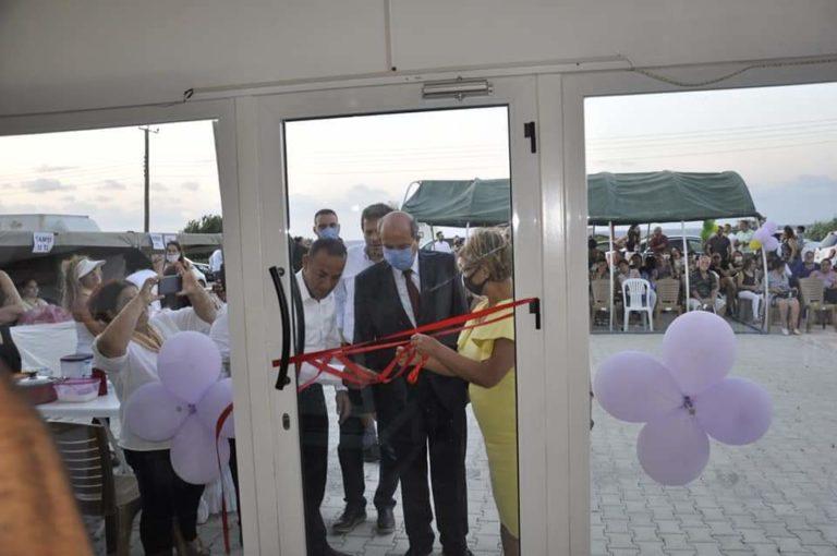 Открытие здания Ассоциации культуры и солидарности и выставки в Лапте
