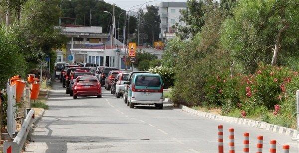 Пересечение границы с Южного Кипра на Северный по-прежнему ограничено
