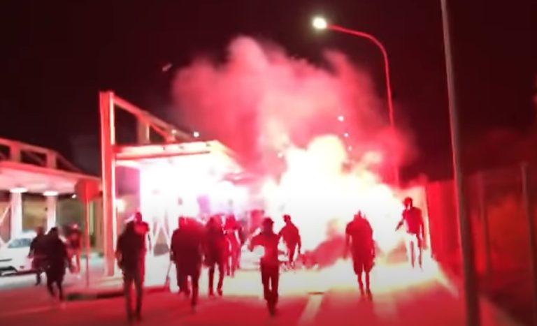 Греко-киприоты проводят демонстрацию в Деринии
