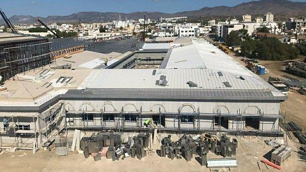 Строительство Пандемической больницы продолжается круглосуточно
