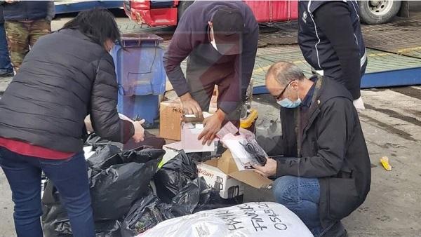 Таможенники провели обыски в порту Фамагусты