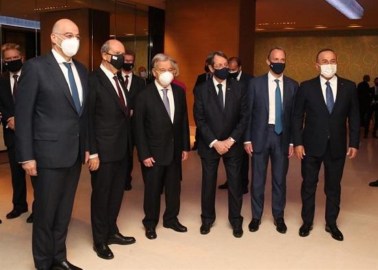 Лидеры Кипра встретились с Антонио Гутерришем