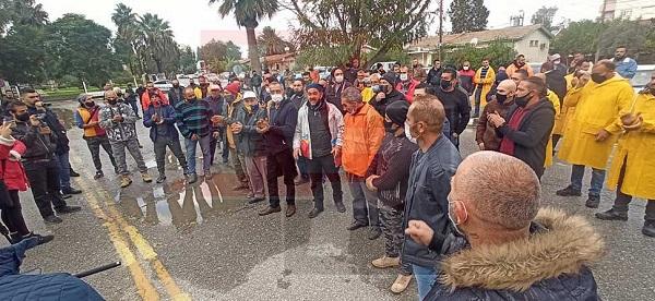 Работники государственного сектора проводят однодневную забастовку